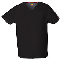 Dickies Unisex EDS Signature V-Neck Scrub Top Sz S-5X (6 Colors)