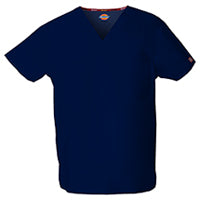 Dickies Unisex EDS Signature V-Neck Scrub Top Sz 2X-5X (6 Colors)
