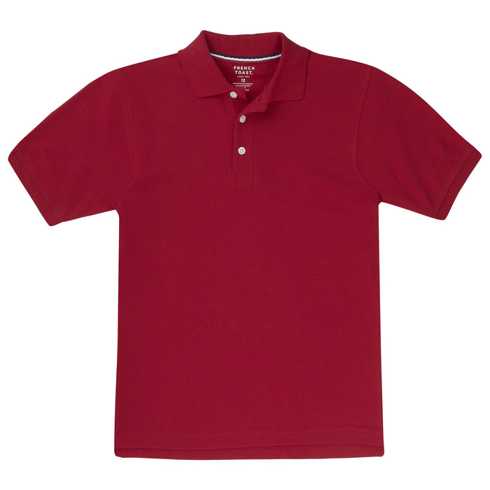 Short Sleeve Pique Polo Husky Sizes (5 Colors)