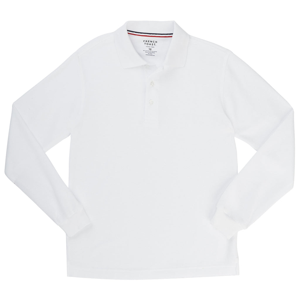Long Sleeve Pique Polo Sz XS-XXL (5 Colors)