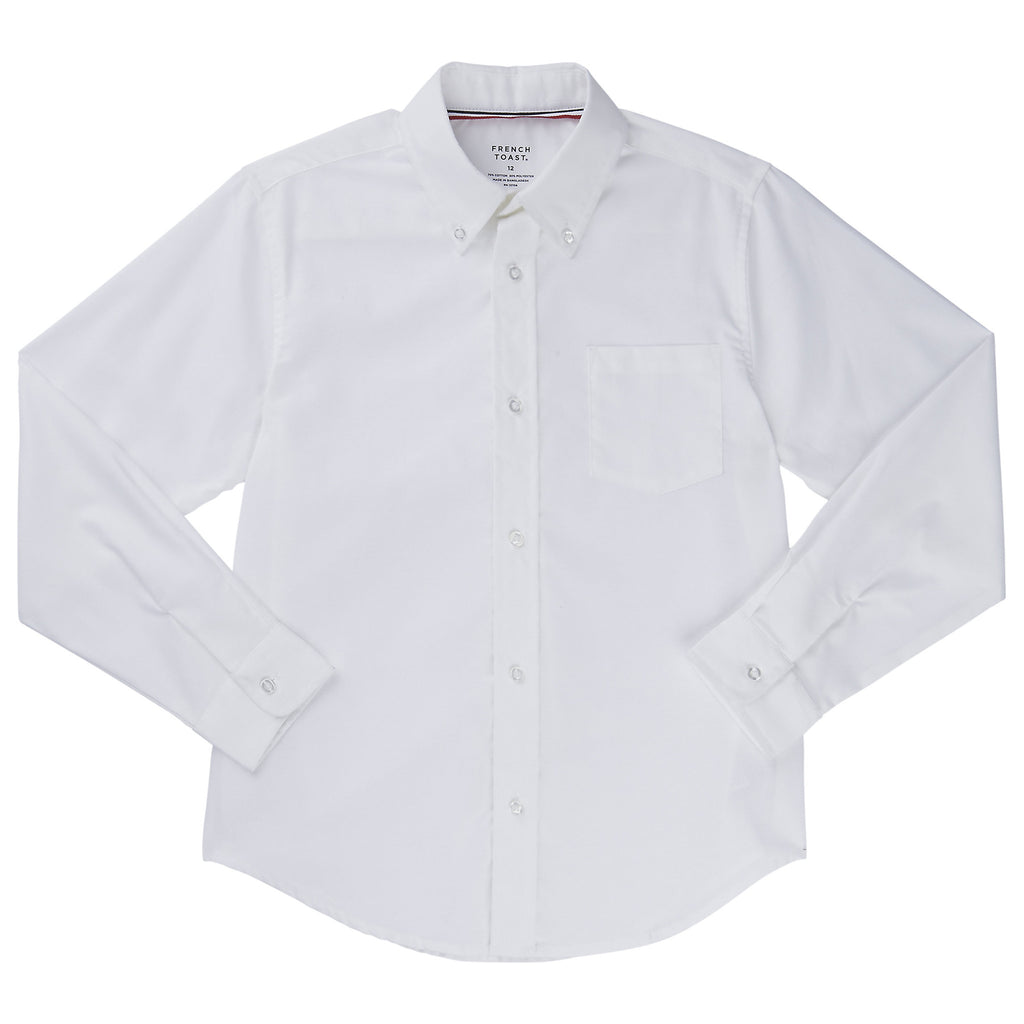 Long Sleeve Oxford Shirt Husky Sizes (1 Color)