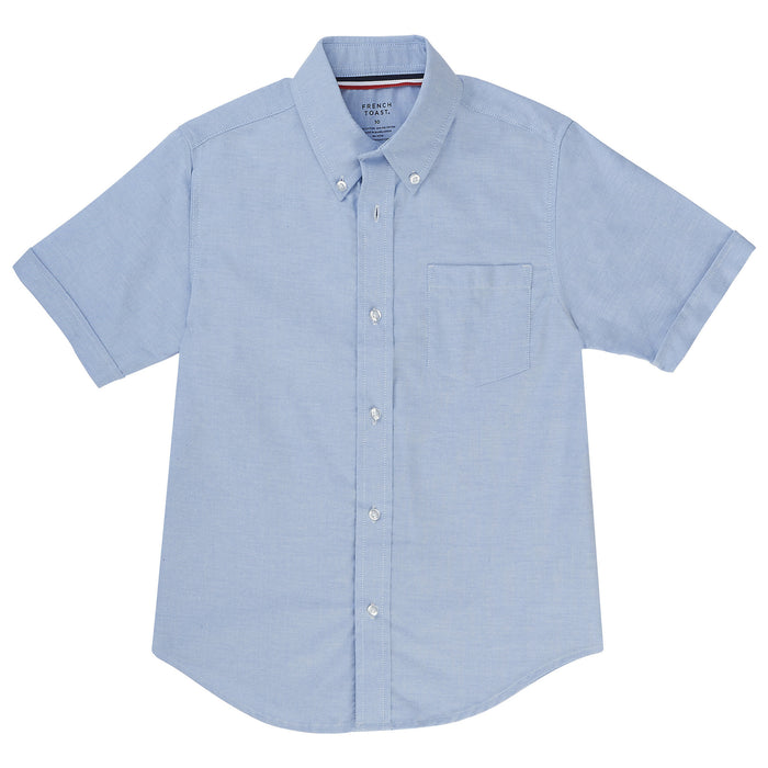 Short Sleeve Oxford Shirt Sz 4-20 (2 Colors)