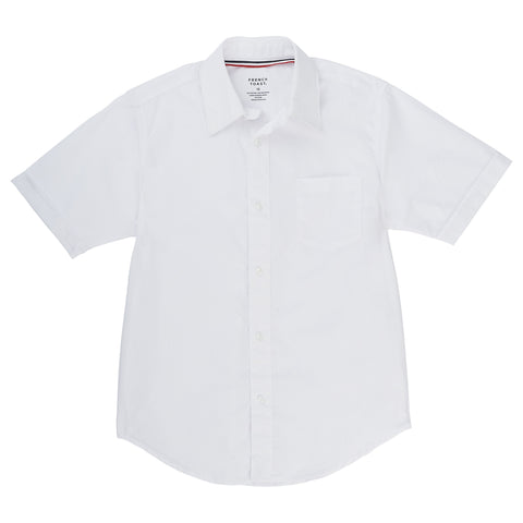 Short Sleeve Dress Shirt with Expandable Collar Sz 4-20 (2 Colors)