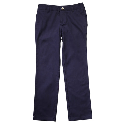 Straight Leg Twill Pant Plus Sizes (2 Colors)