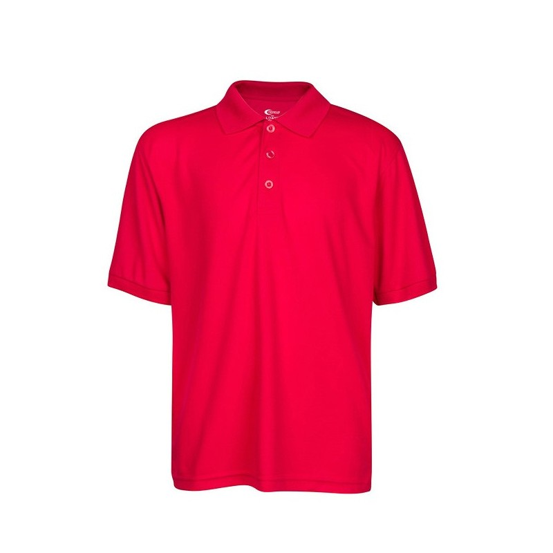 Performance Polo Unisex Sz S-XL(6-20) (4 Colors)