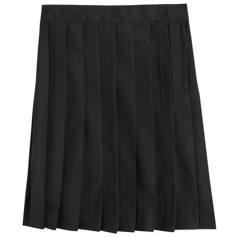 Below the Knee Pleated Skirt Plus Sizes (2 Colors)