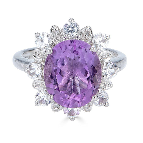 Lady Diana Amethyst Ring