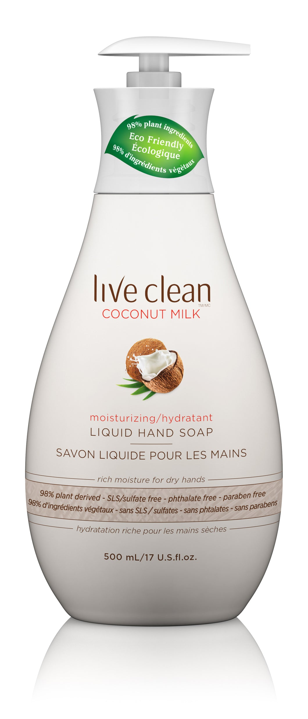 Coconut Milk Moisturizing Hand Soap, 17 oz.