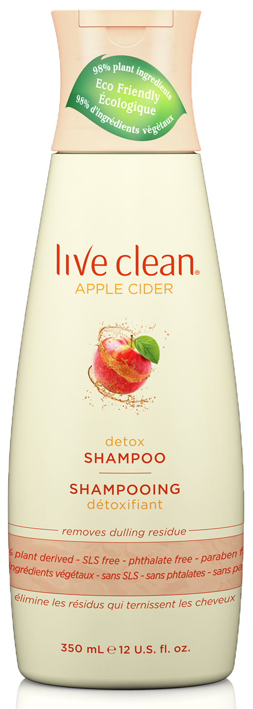 Apple Cider Detox Shampoo, 12 OZ.