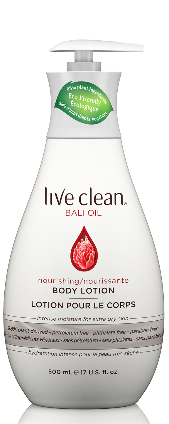 Bali Oil Nourishing  Body Lotion, 17 OZ.