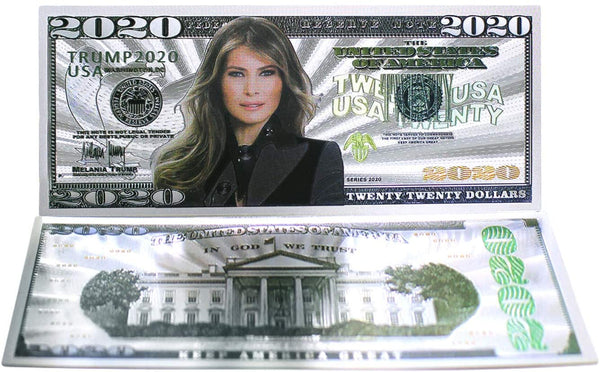 Melania Trump collectors note