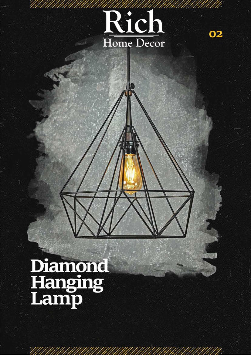Diamond  Hanging Lamp
