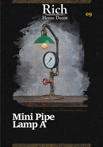 Mini Pipe Lamp A