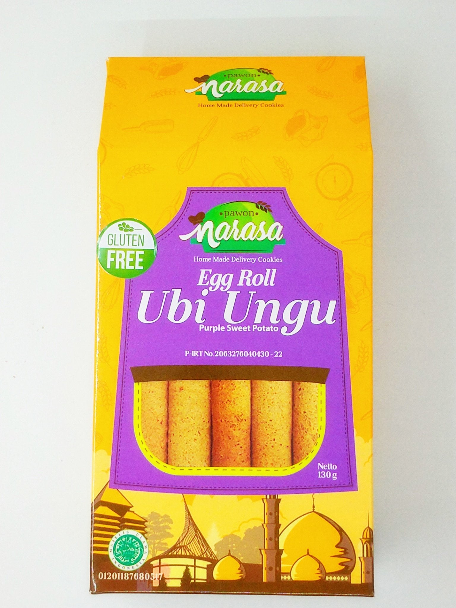 Pawon Narasa - Egg Roll Purple Sweet Potato