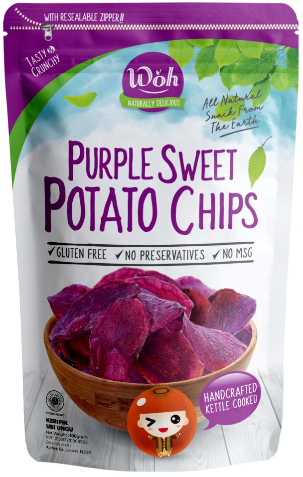 Purple Sweet Patato Chips