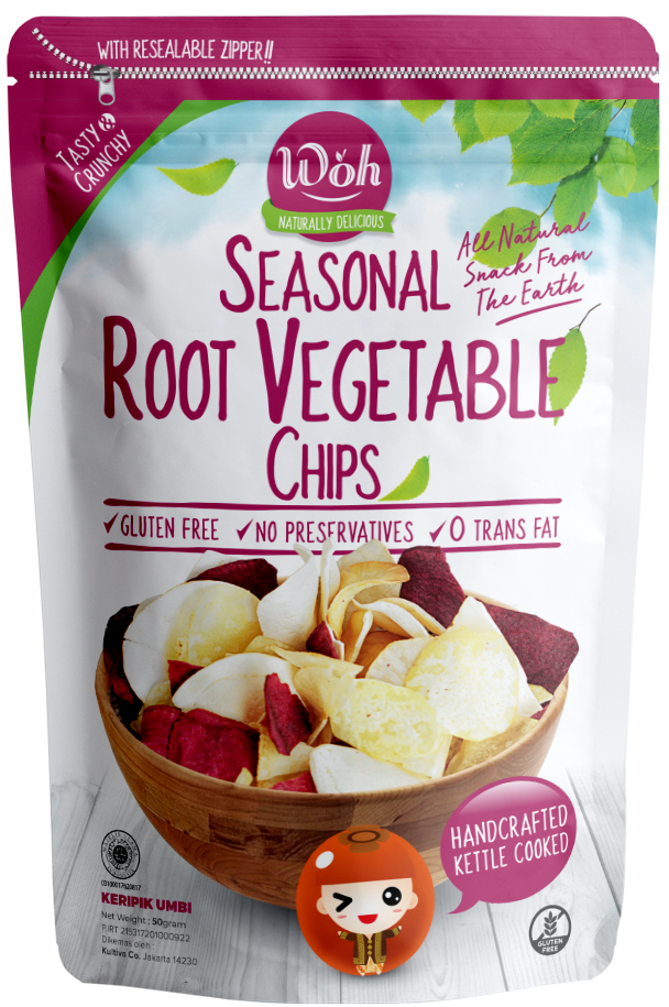 Seasonal Root Vegetable Chips