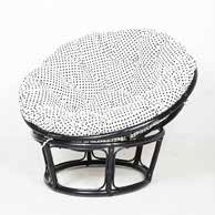 Chair Rattan by Papasan - Sarinah