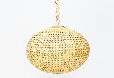 Rattan Lamps by Dompu - Sarinah