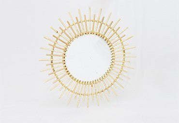 Rattan Mirror by Sarinah