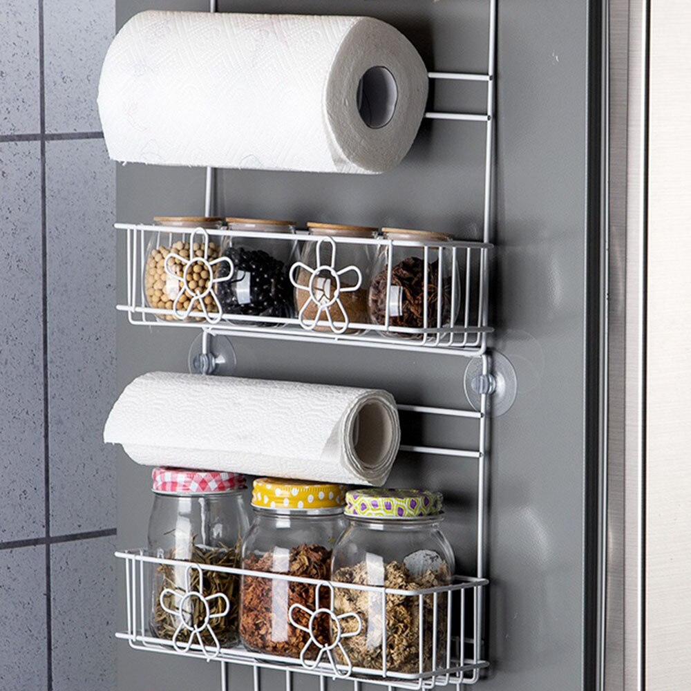 Dectal-Side Shelf Storage Rack