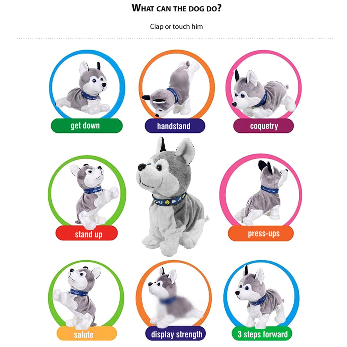 Electronic Interactive Toy Robot Puppy