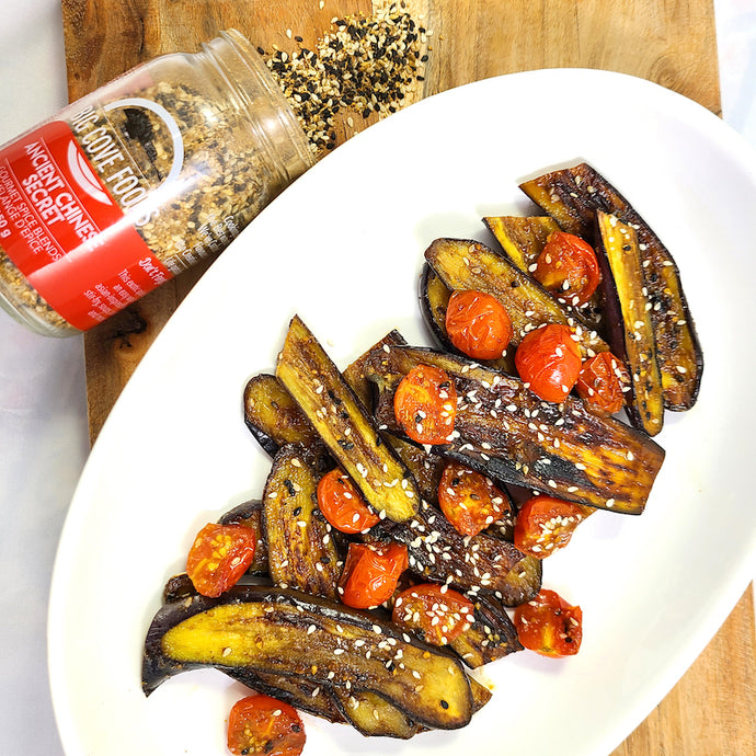 Ancient Chinese Secret Eggplant and Tomatoes