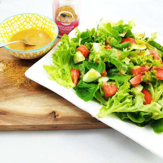 Maple Mustard Salad Dressing