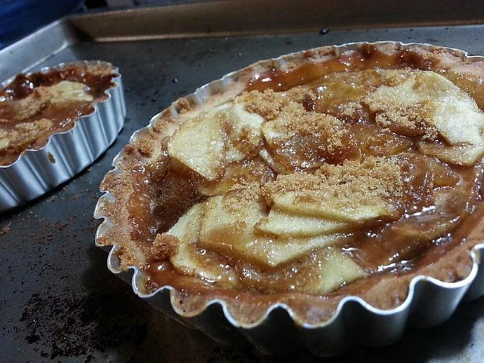 Salted Caramel Apple Tarts