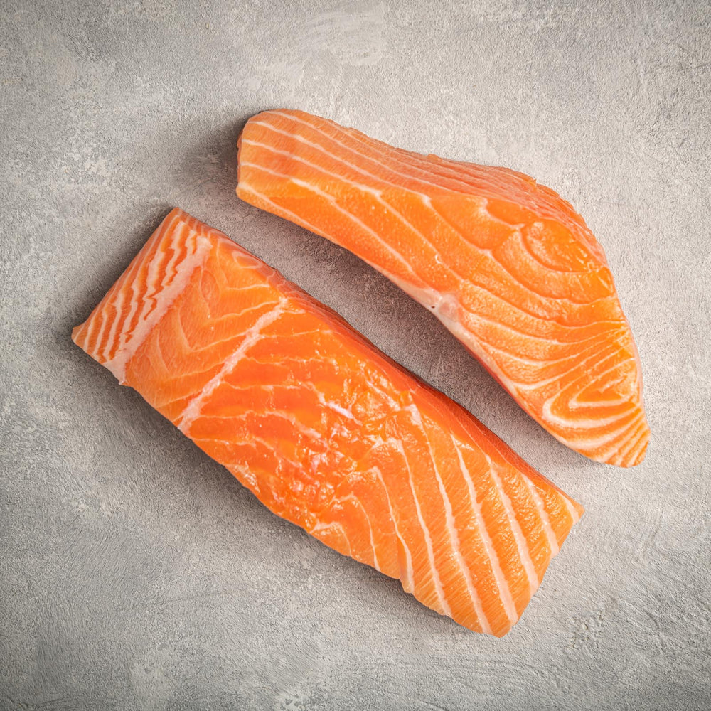 Load image into Gallery viewer, Faroe Island Salmon dual fillets by FishFinery