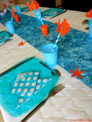 deco bapteme theme poisson