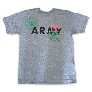 Army Tshirt - Heather Grey (M)