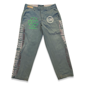 Green Work Pants (34x30)