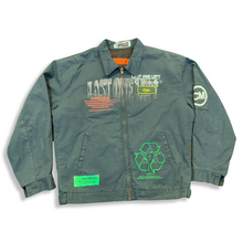 "Load image into Gallery viewer, Green ""Chris"" Work Jacket (L)"