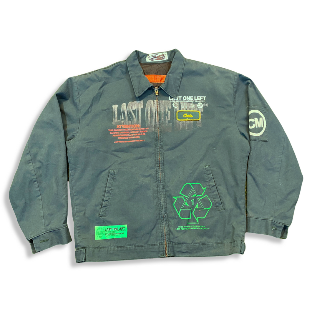 "Green ""Chris"" Work Jacket (L)"