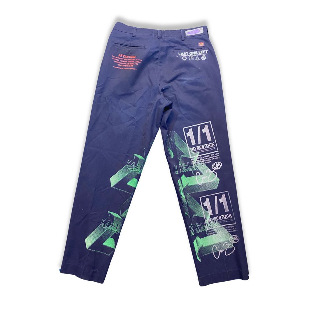 Navy blue work pants (32 x32)