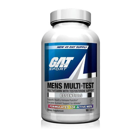 GAT MENS MULTI+TEST VITAMIN - JNK Supplements