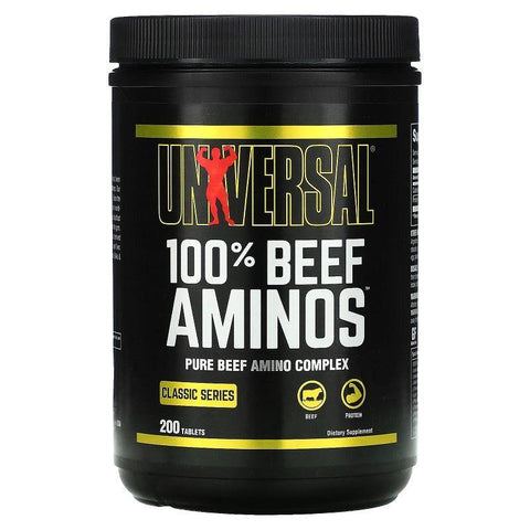 UNIVERSAL NUTRITION 100% BEEF AMINOS TAB - JNK Supplements