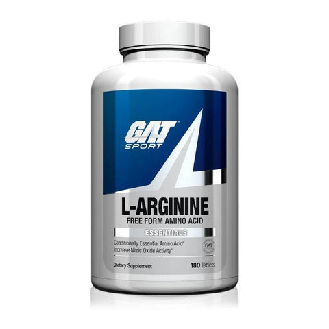 GAT ESSENTIALS L-ARGININE 180 TAB - JNK Supplements