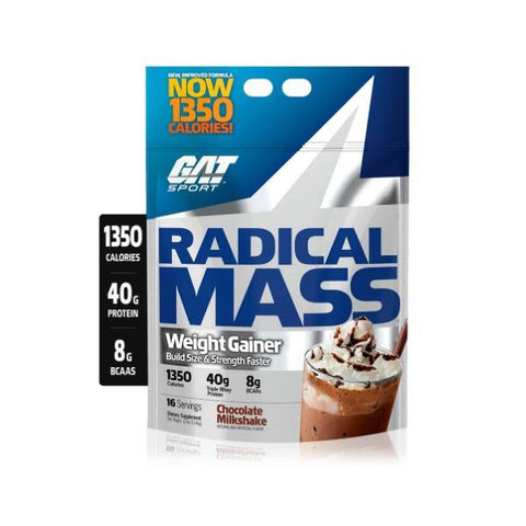 GAT RADICAL MASS 12 LB - JNK Supplements