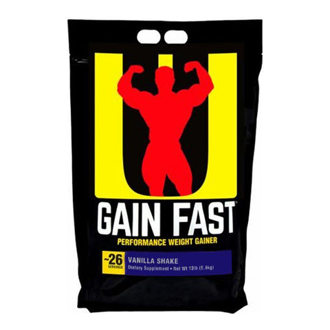 UNIVERSAL NUTRITION GAIN FAST 13LB BAG - JNK Supplements