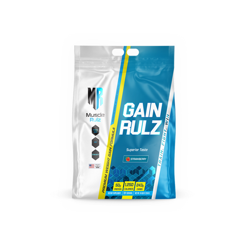 MUSCLE RULZ GAIN RULZ - JNK Supplements