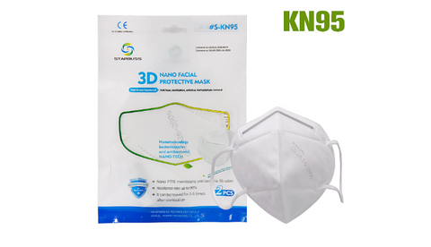 STARBUSS 3D NANO FACIAL PROTECTIVE MASK - JNK Supplements