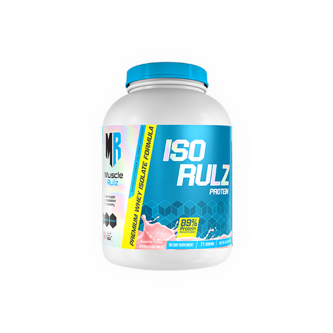 MUSCLE RULZ ISO RULZ 4.4LBS - JNK Supplements