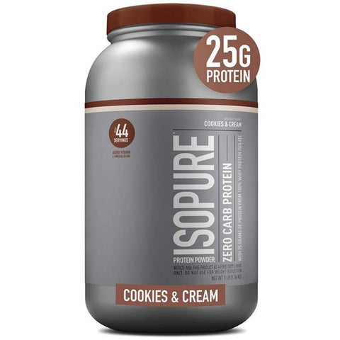 ISOPURE ZERO CARB GF/LF 3LB - JNK Supplements
