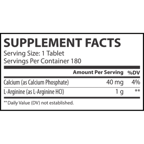 MUSCLE RULZ L-ARGININE - JNK Supplements