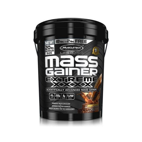 MUSCLE TECH MASS GAINER 20LBS - JNK Supplements