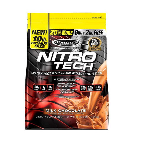 MUSCLE TECH NITROTECH - JNK Supplements
