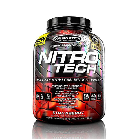 MUSCLE TECH NITROTECH 4.02LBS - JNK Supplements