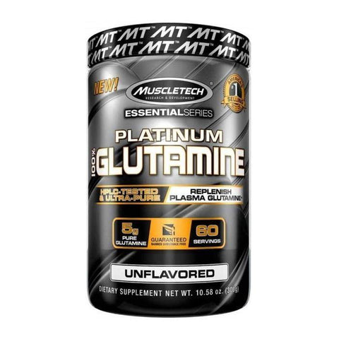 MUSCLE TECH PLATINUM GLUTAMINE 300G - JNK Supplements