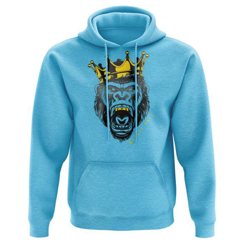 MUSCLE RULZ HOODIE (SKY BLUE) - JNK Supplements
